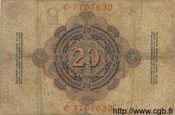 20 Mark ALLEMAGNE  1909 P.037 B+