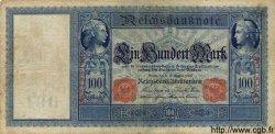 100 Mark ALLEMAGNE  1909 P.038 B à TB