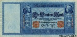 100 Mark ALLEMAGNE  1910 P.042 SUP