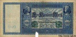 100 Mark ALLEMAGNE  1910 P.043 B