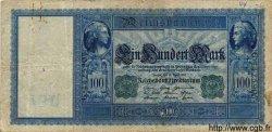 100 Mark ALLEMAGNE  1910 P.043 TB