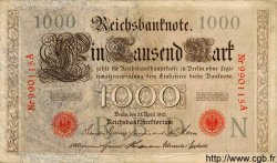 1000 Mark ALLEMAGNE  1910 P.044a SUP