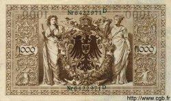 1000 Mark ALLEMAGNE  1910 P.045b SPL