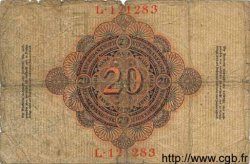 20 Mark ALLEMAGNE  1914 P.046a B