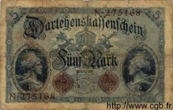 5 Mark ALLEMAGNE  1914 P.047a B