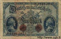 5 Mark ALLEMAGNE  1914 P.047c B