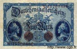 5 Mark ALLEMAGNE  1914 P.047c TTB+