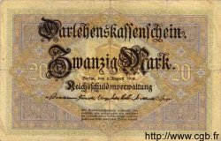20 Mark ALLEMAGNE  1914 P.048a TB+