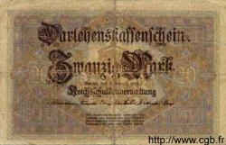 20 Mark ALLEMAGNE  1914 P.048b B+