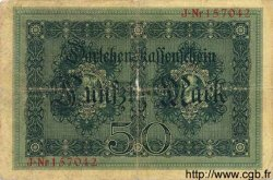 50 Mark ALLEMAGNE  1914 P.049a B