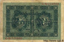 50 Mark ALLEMAGNE  1914 P.049a TB