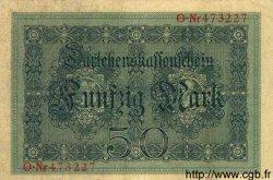 50 Mark ALLEMAGNE  1914 P.049a TTB+