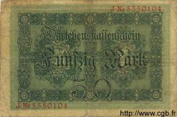 50 Mark ALLEMAGNE  1914 P.049b B