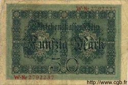 50 Mark ALLEMAGNE  1914 P.049b B+