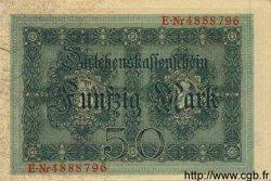 50 Mark ALLEMAGNE  1914 P.049b pr.NEUF