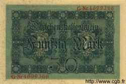 50 Mark ALLEMAGNE  1914 P.049b SPL+