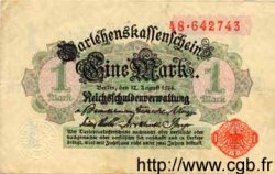 1 Mark ALLEMAGNE  1914 P.050 pr.SUP
