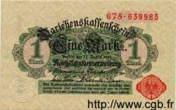 1 Mark ALLEMAGNE  1914 P.050 NEUF