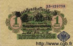 1 Mark ALLEMAGNE  1914 P.052 SUP