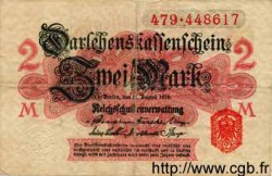 2 Mark ALLEMAGNE  1914 P.053 TB+