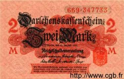 2 Mark ALLEMAGNE  1914 P.054 NEUF