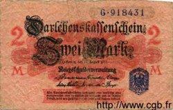 2 Mark ALLEMAGNE  1914 P.055 B