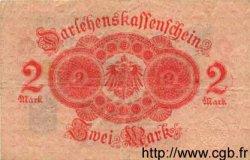 2 Mark ALLEMAGNE  1914 P.055 TB+