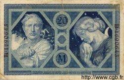 20 Mark ALLEMAGNE  1915 P.063 TB
