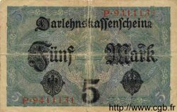 5 Mark ALLEMAGNE  1917 P.056a TB