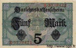 5 Mark ALLEMAGNE  1917 P.056a SPL