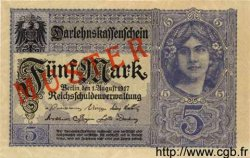 5 Mark ALLEMAGNE  1917 P.056bs NEUF