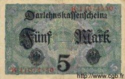 5 Mark ALLEMAGNE  1917 P.056b TTB