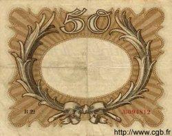 50 Mark ALLEMAGNE  1918 P.065 TB