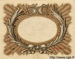 50 Mark ALLEMAGNE  1918 P.065 SUP+