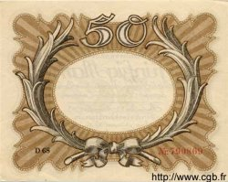 50 Mark ALLEMAGNE  1918 P.065 SPL