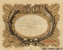 50 Mark ALLEMAGNE  1918 P.065 pr.TTB