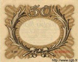 50 Mark ALLEMAGNE  1918 P.065 pr.SUP