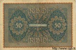 50 Mark ALLEMAGNE  1919 P.066 pr.TB