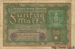 50 Mark ALLEMAGNE  1919 P.066 B