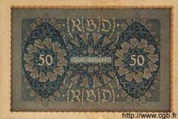 50 Mark ALLEMAGNE  1919 P.066 SUP