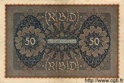 50 Mark ALLEMAGNE  1919 P.066 TTB+