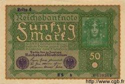50 Mark ALLEMAGNE  1919 P.066 SUP à SPL