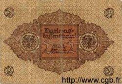 2 Mark ALLEMAGNE  1920 P.060 B+