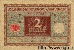 2 Mark ALLEMAGNE  1920 P.060 TTB