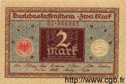 2 Mark ALLEMAGNE  1920 P.060 pr.NEUF