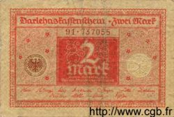 2 Mark  GERMANY  1920 P.060