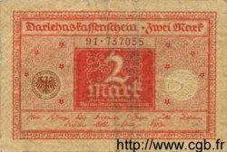2 Mark ALLEMAGNE  1920 P.060 B à TB