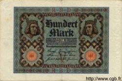 100 Mark ALLEMAGNE  1920 P.069b TTB