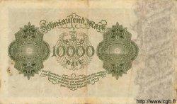 10000 Mark ALLEMAGNE  1922 P.071 TTB