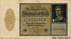 10000 Mark ALLEMAGNE  1922 P.072 B